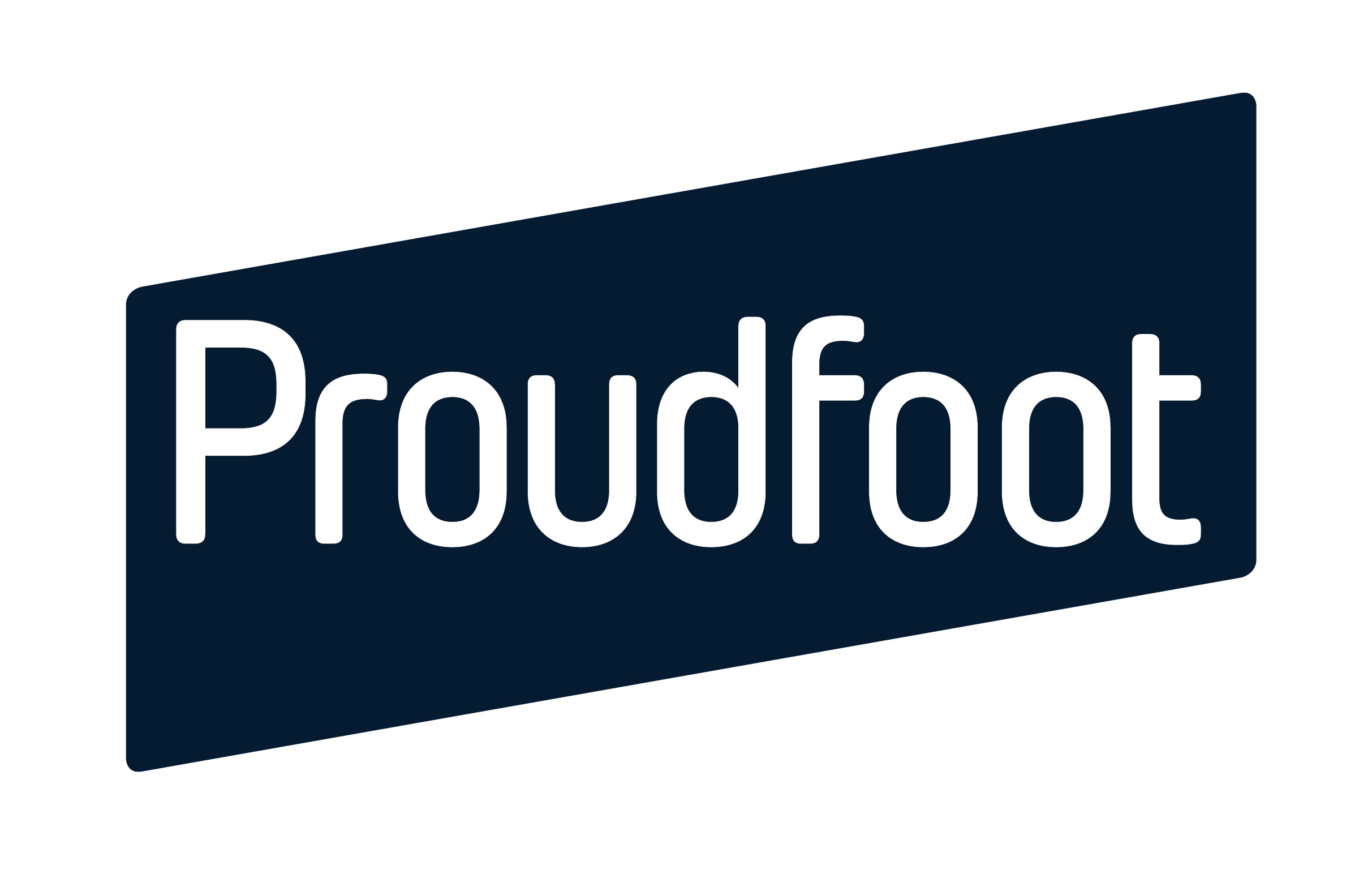Proudfoot logo blue