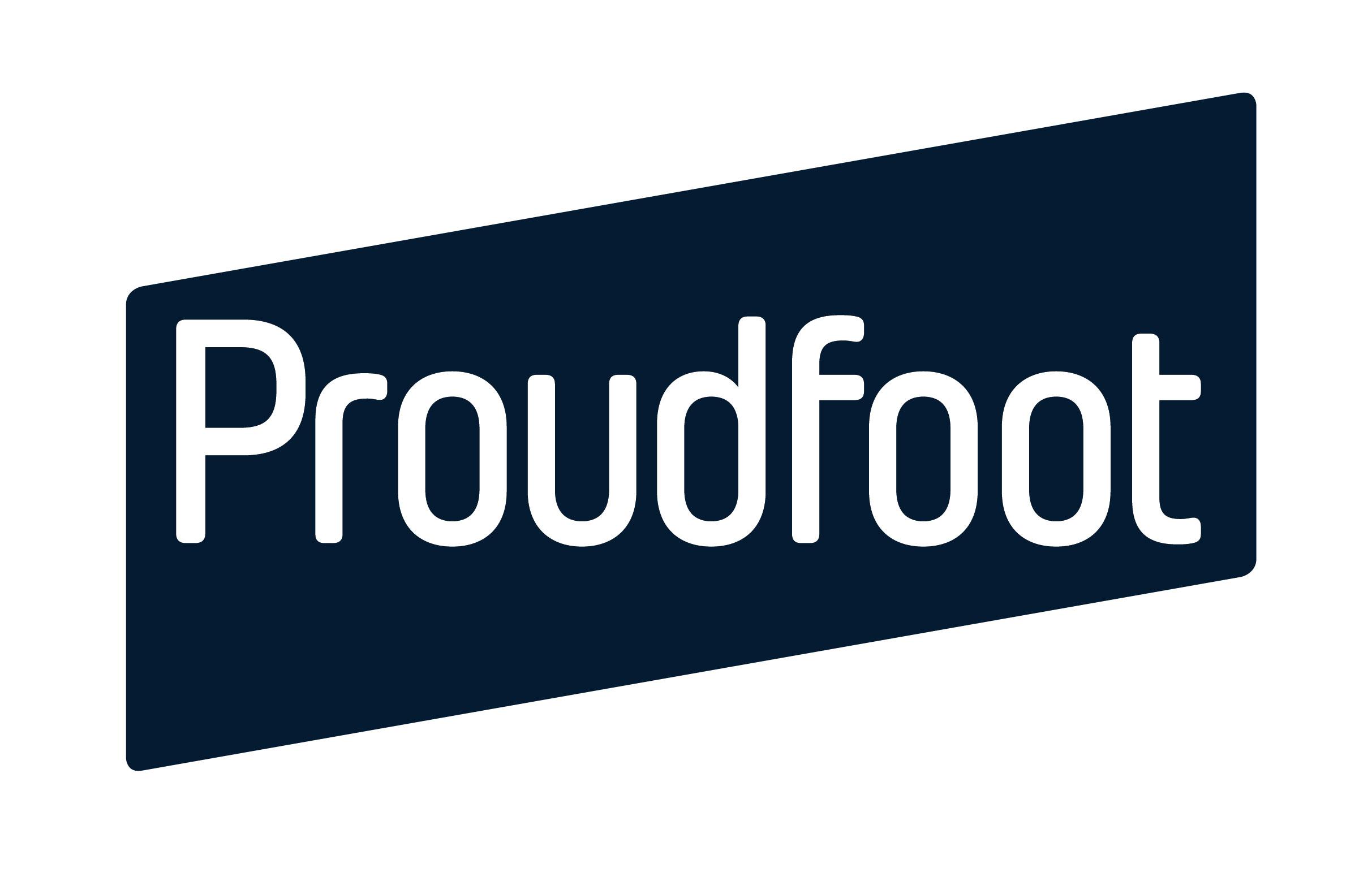 Proudfoot logo blue